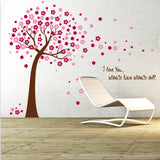 OnDecal Pink Sakura Flower Cherry Blossom Tree Decals