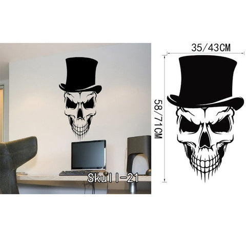 OnDecal Top Hat Skull