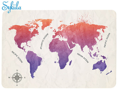 OnDecal Map Of The World
