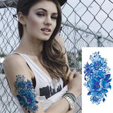 OnDecal Assorted Flower Temporary Tattoos
