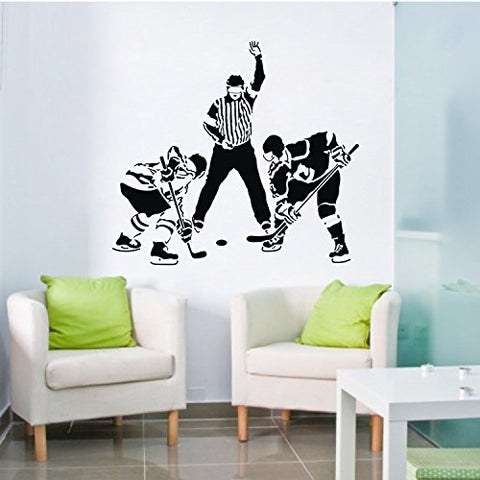 OnDecal Ice Hockey Players Wall Decal