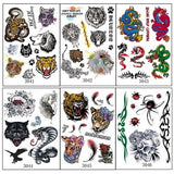 OnDecal 6pc Temporary Tattoo Set