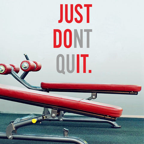 Just Don T Quit Ondecal