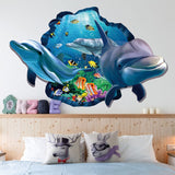 OnDecal 3D Underwater Wall Decal