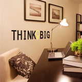 OnDecal THINK BIG Wall Decal