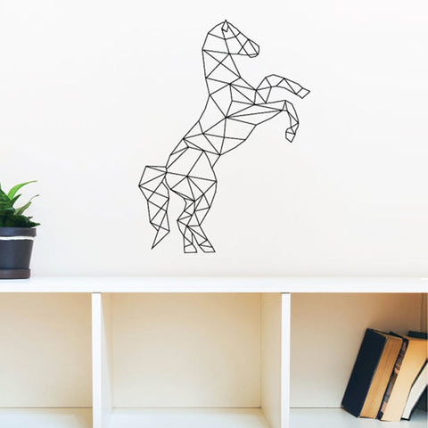 OnDecal Geometric Horse Wall Decal