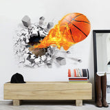 OnDecal 3D Basketball Wall Decal