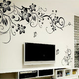 OnDecal Vines and Flowers Wall Decal