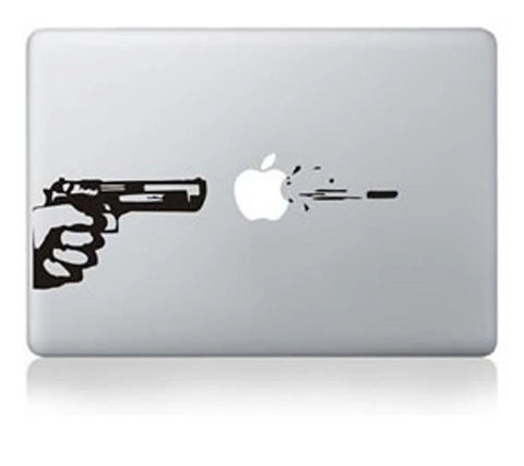 Personality GUN Laptop Decal