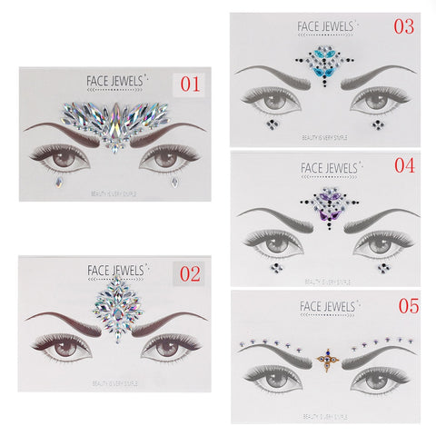 OnDecal Temporary Face Jewels