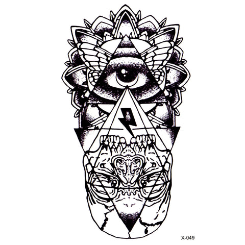 OnDecal All Seeing Eye Temporary Tattoo