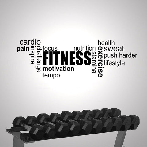 OnDecal Fitness Gym Motivation