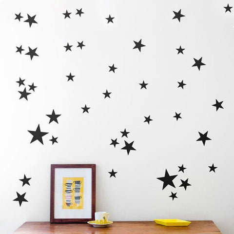 OnDecal Star Pattern Vinyl Wall Decals