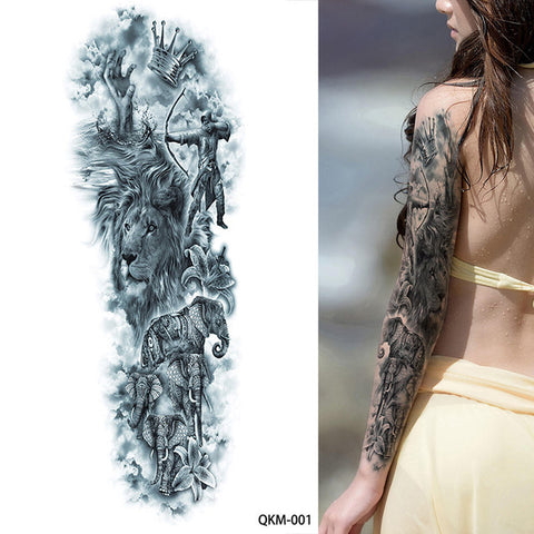 OnDecal Stunning Full Arm Temporary Tattoo
