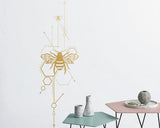 OnDecal Unique Geometric Bees Wall Decal