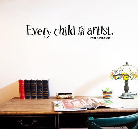 OnDecal Every Child is an Artist