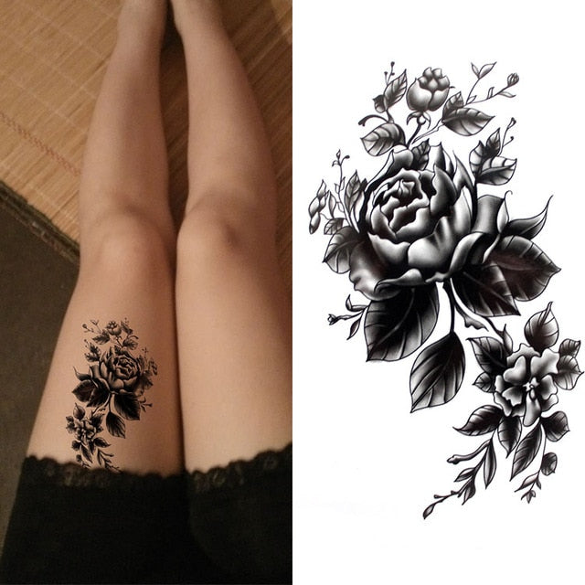 3a85e0ccc Black Ink Art Temporary Tattoo – OnDecal