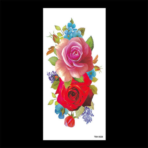 OnDecal Rose Flash Tattoo