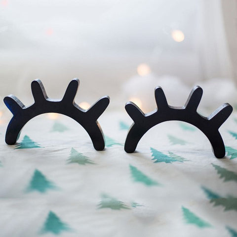 OnDecal 3D Wooden Sleepy Eyes