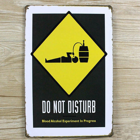 OnDecal Funny Drunkard Bar Sign