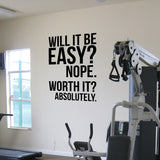 OnDecal Absolutely Fitness Motivation