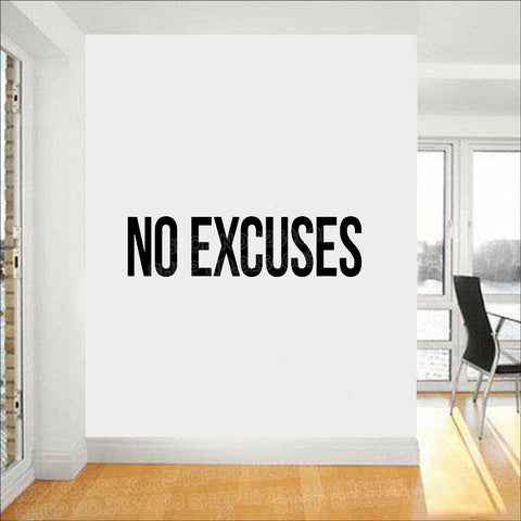OnDecal No Excuses Self Motivation