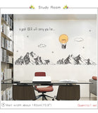 OnDecal Inspirational Mountain Wall Sticker