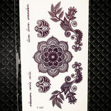 OnDecal Black Ink Temporary Tattoo