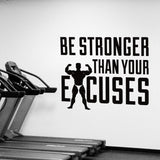 OnDecal Be Stronger Motivation Quote