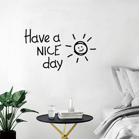 OnDecal Have A NICE Day Wall Decal