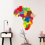 OnDecal Colorful Map Of Africa