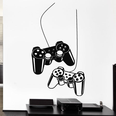 Video Game Controller Wall Decal