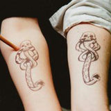 OnDecal Retro Skull & Snake Tattoo