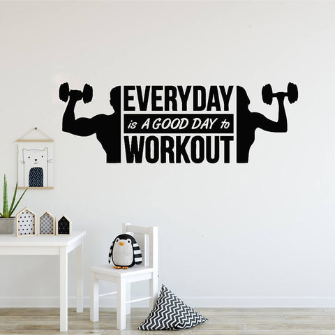 OnDecal Fitness Quote Decal
