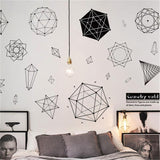 OnDecal Geometry Wall Decals