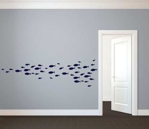 School Of Fish Wall Decal