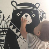 OnDecal Nordic Style Tribal Bear Wall Decal