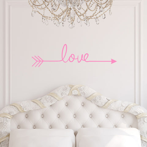 OnDecal Love arrow Wall decal