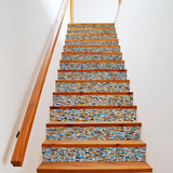 OnDecal Ceramic Tile Pattern Stair Decals