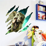 OnDecal 3d Dinosaurs Wall Decals