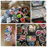 OnDecal 100Pcs Random Sticker Set