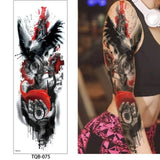 OnDecal Large Sleeve Temporary Tattoo