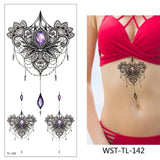 OnDecal Amazing Temporary Body Tattoos