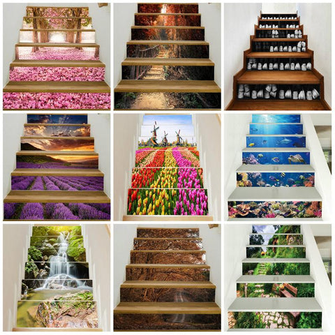 OnDecal 3D Landscape Stair Decals