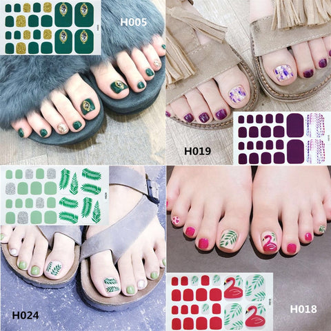 Toe Nail Decals