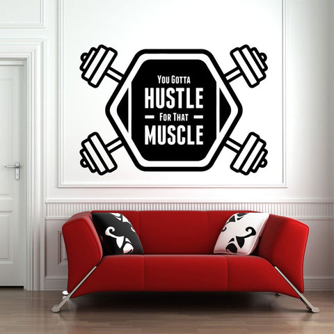 OnDecal Hustle Motivational Quote