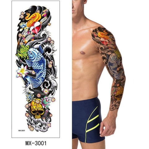 OnDecal Temporary Tattoo Sleeves