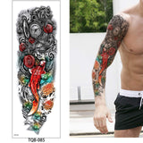 OnDecal Realistic Sleeve Temporary Tattoo