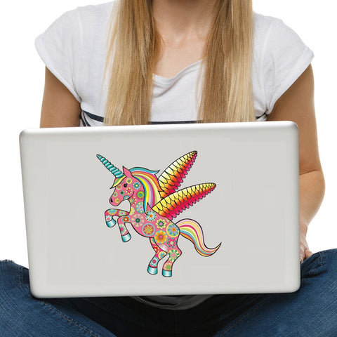OnDecal Fish Unicorn Seahorse Laptop Decal