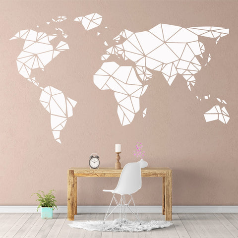 OnDecal Creative World Map Wall Decal